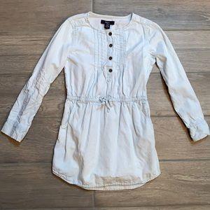 GapKids kids girls denim dress size small 6-7